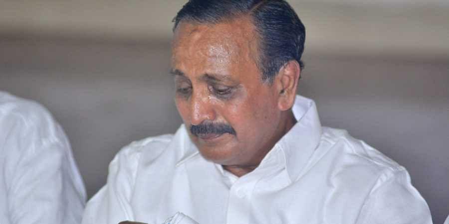 Kozhikode UDF candidate MK Raghavan