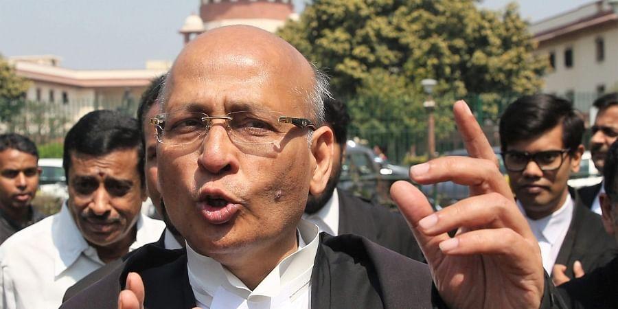 Senior advocate Abhishek Manu Singhvi