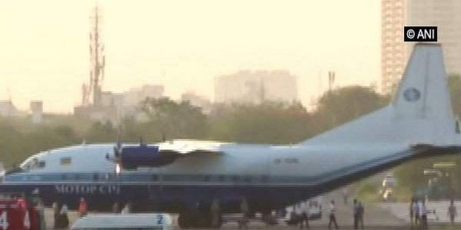 The aircraft had taken off from Tbilisi, Georgia. (Photo |ANI)