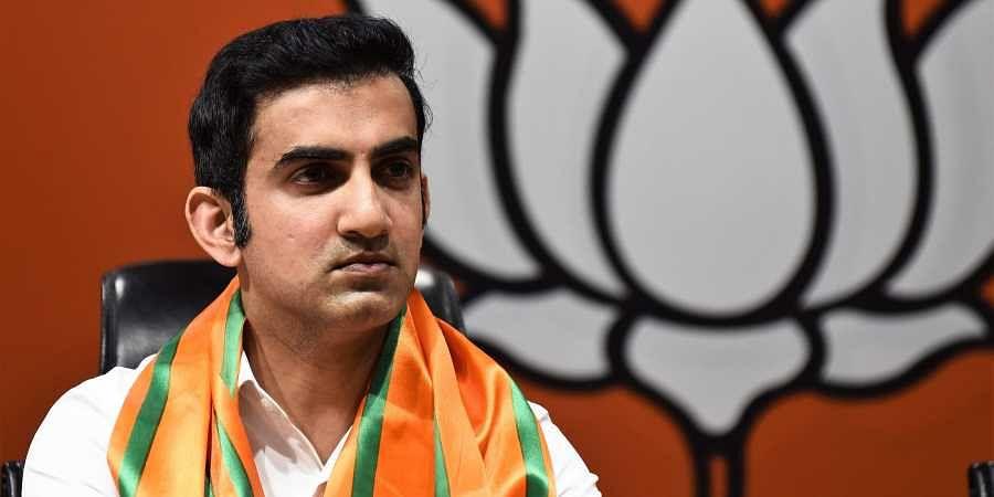 Gautam Gambhir, BJPs candidate for East Delhi Lok Sabha constituency