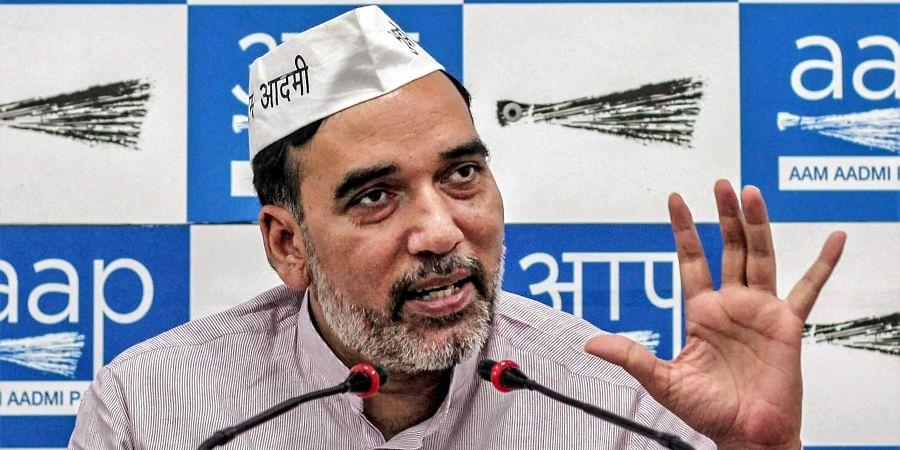 AAP Delhi chief Gopal Rai