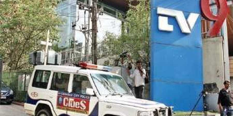 Forgery case: Cops conduct searches at TV9's Hyderabad