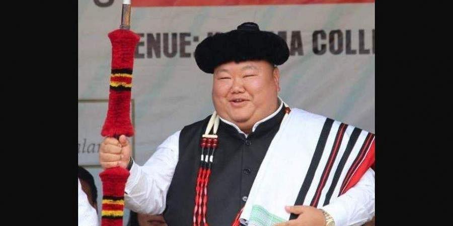 Nagaland minister Temjen Imna Along Longkumer (Photo | Facebook)