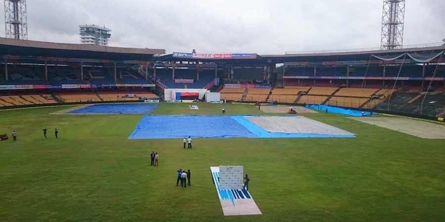 Chinnaswamy Stadium in Bengaluru