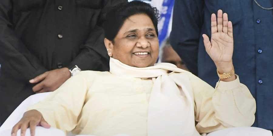 BSP supremo Mayawati. (Photo | EPS)