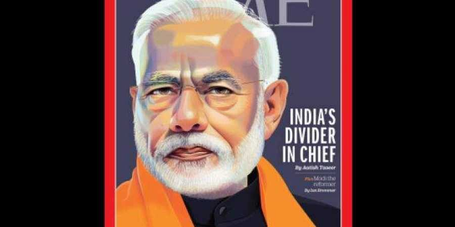 Time has featured Prime Minister Narendra Modi on the cover page of its May 20 issue.