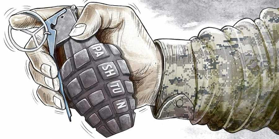 Pashtundissidents in Pakistan.