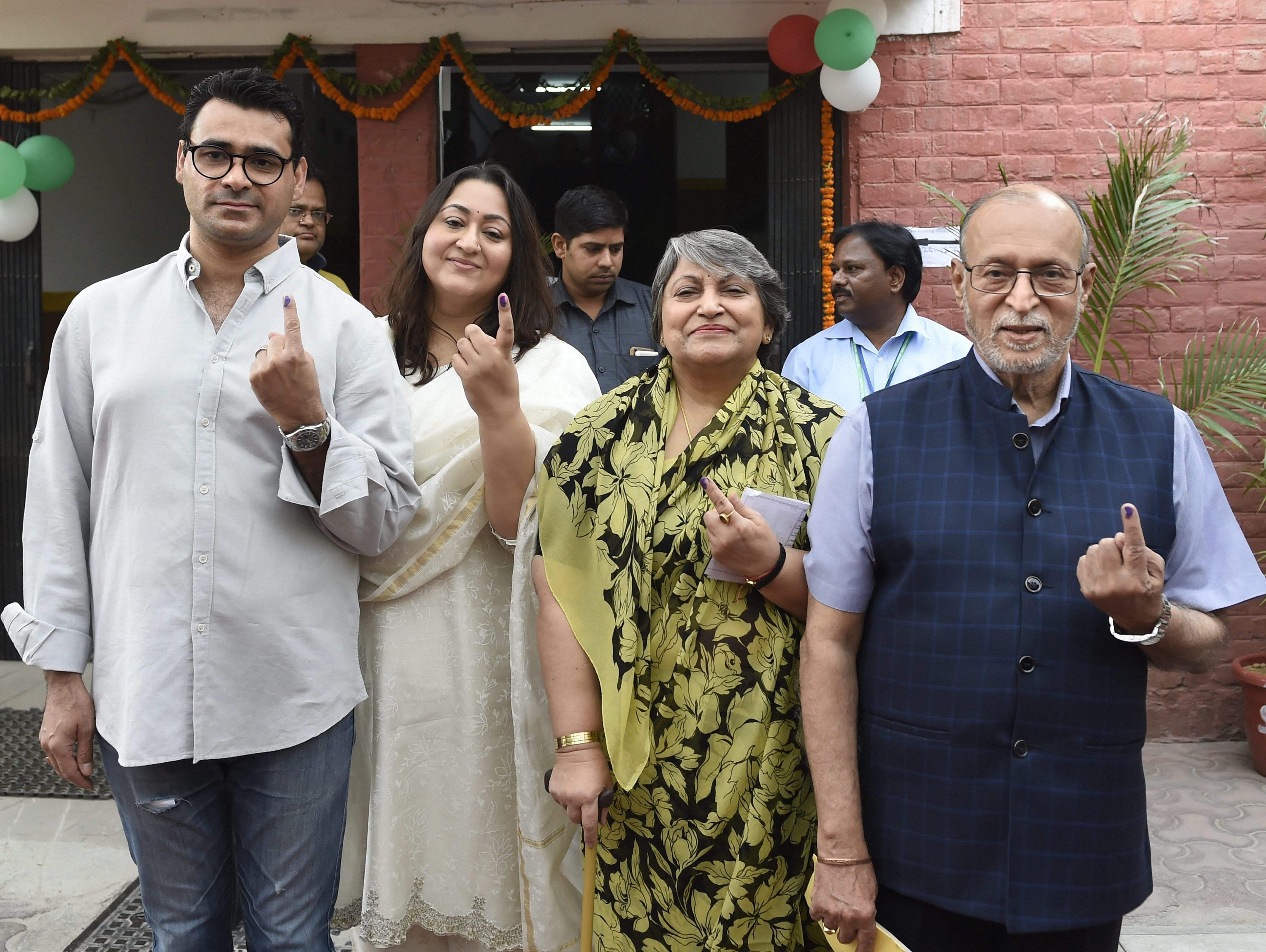 Lok Sabha Elections Phase 6 - Delhi voting 2019