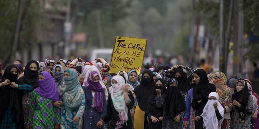 Kashmir protest, minor rape