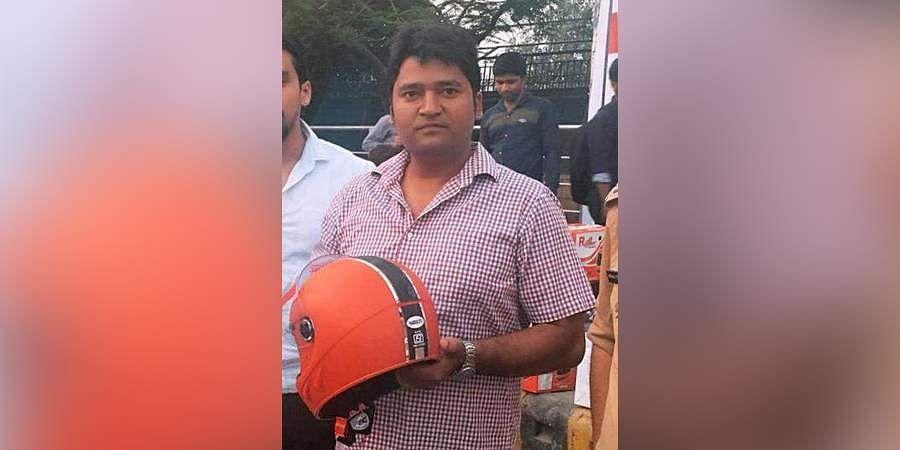 Raghvendra Kumar: Delhi's Helmet man- The New Indian Express