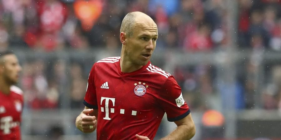 0450dbdfa Arjen Robben. The 35-year-old winger is set to leave Munich after 10 years  at the end of the season