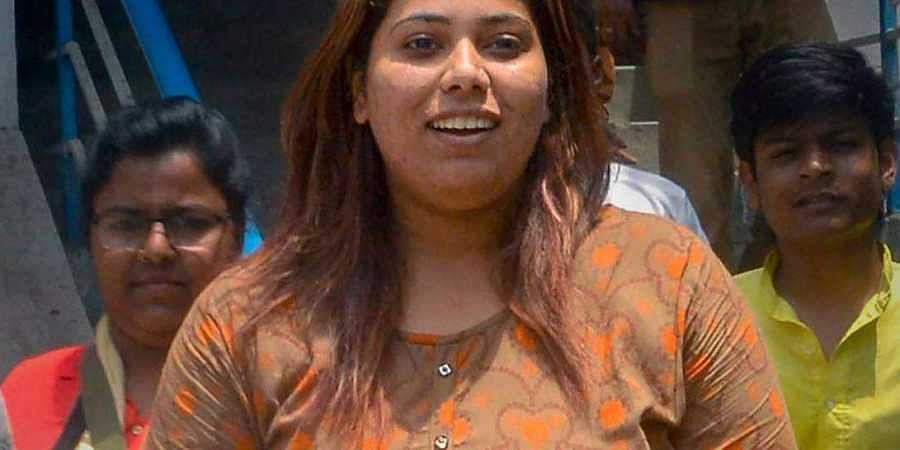 Morphed photo of Mamata Banerjee
