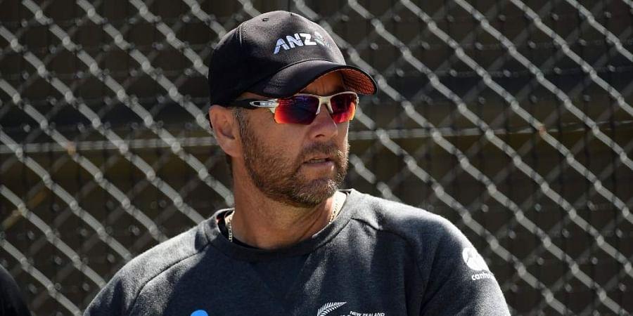 New Zealand batting coach Craig McMillan