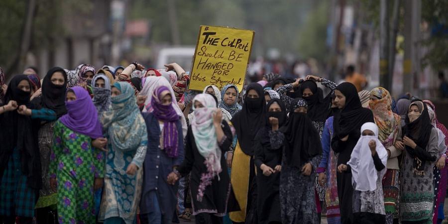 Kashmir protest, minor rape