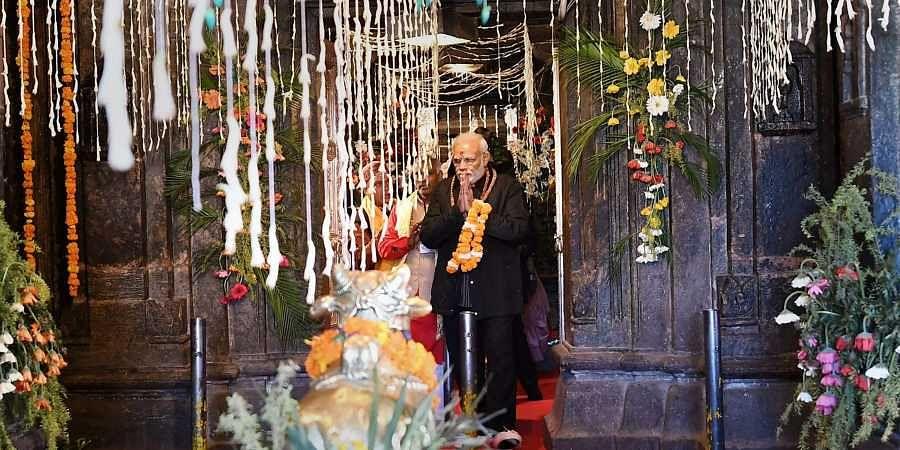 Kedarnath temple, PM