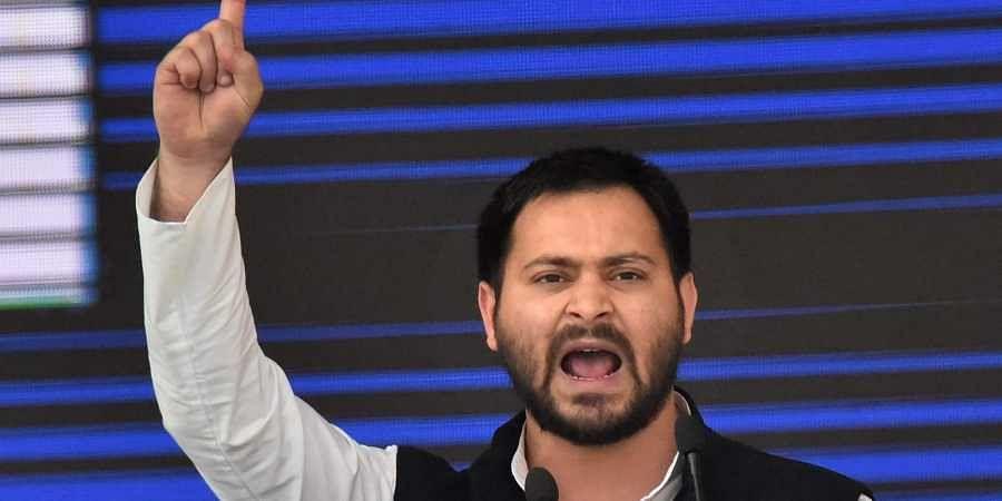 Bihar opposition leader Tejashwi Yadav