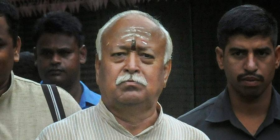 RSS chief Mohan Bhagwat's SUV overturns in bid to save cow, security personnel injured