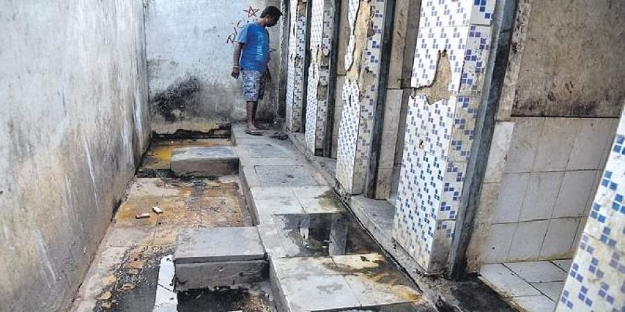 Villagers reside in toilet after Fani destroys home in Odisha
