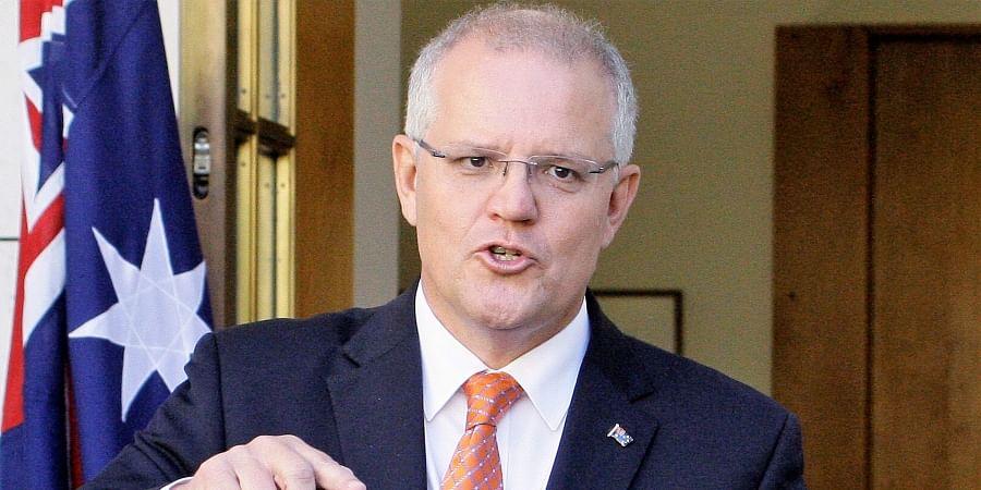 Australia PM Scott Morrison