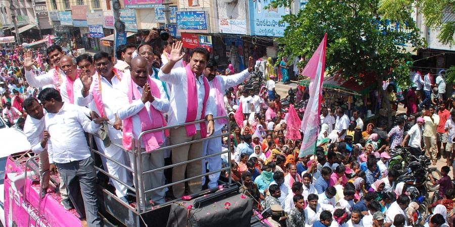 Sources said the TRS response would depend on how the BJP and Congress approach the situation in the event of NDA and UPA falling short of the majority mark.