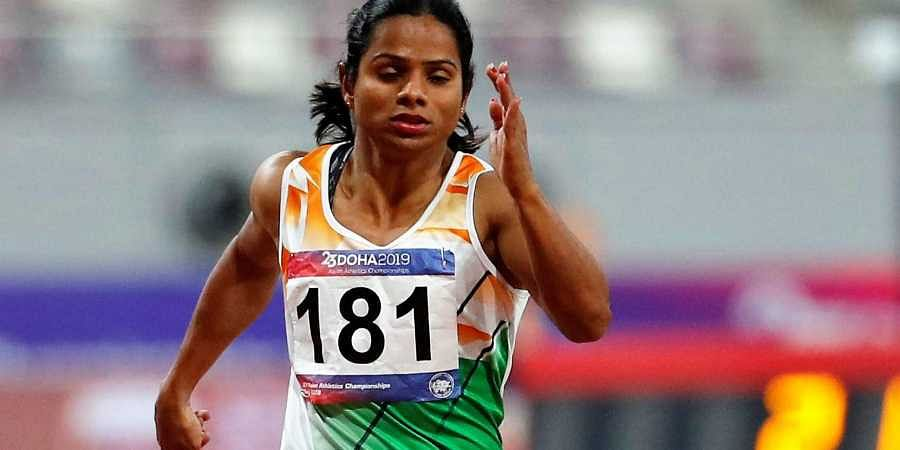 India's fastest woman Dutee Chand