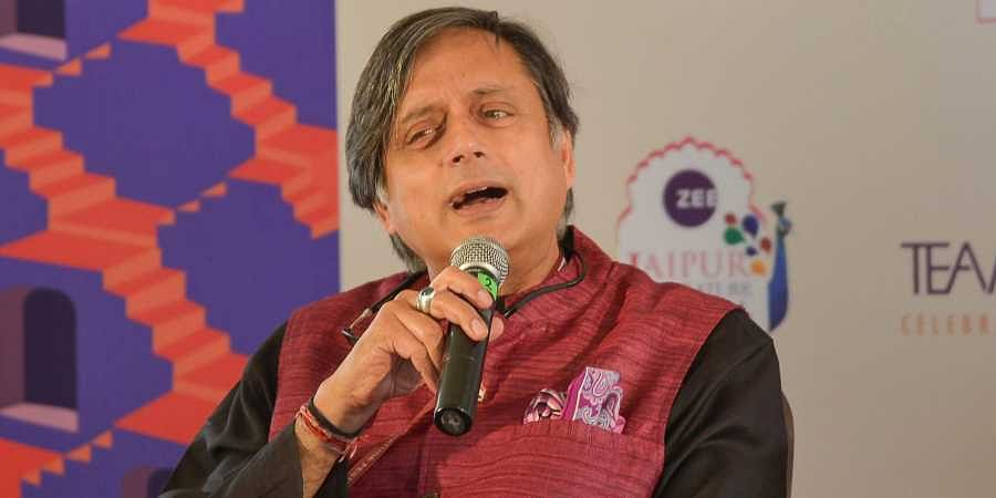 Senior Congress leader Shashi Tharoor