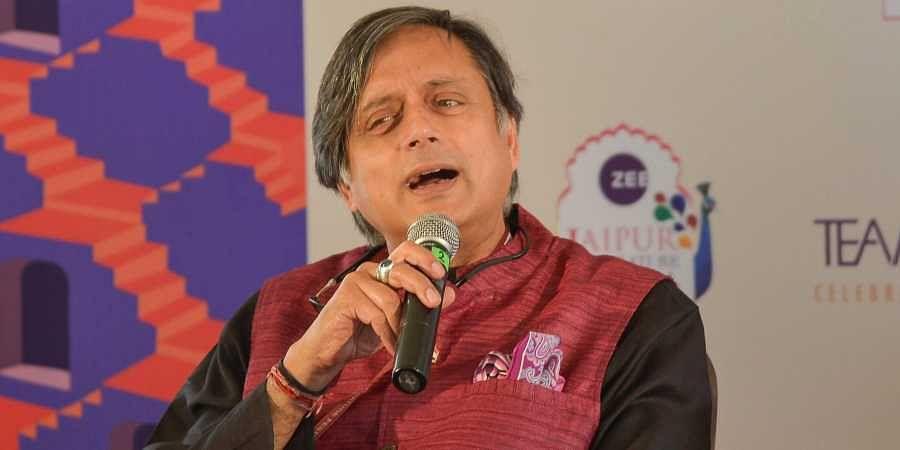 Senior Congress leader Shashi Tharoor