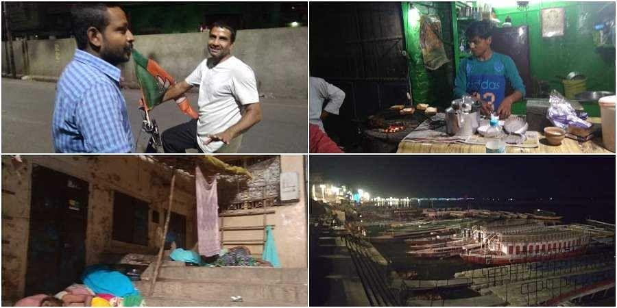 In Modi's home turf, Banarasis debate PM's main challenger hours before polling