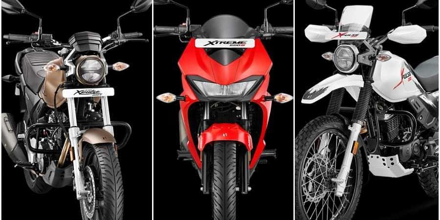 Hero launches three new bikes in 200cc segment- The New