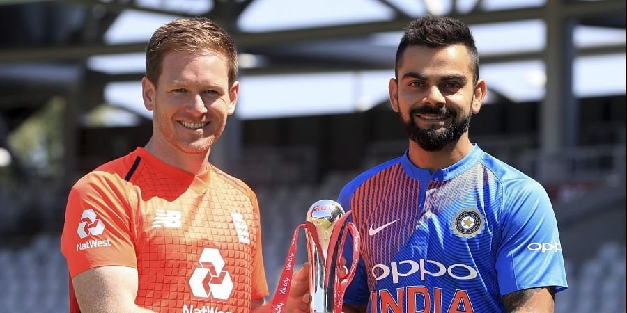 England captain Eoin Morgan opted to bat after winning the toss in the second ODI against India. (File | AP)
