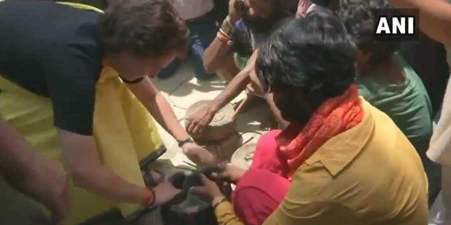 WATCH | Priyanka Gandhi's Raebareli outreach programme involving snake charmers divides Twitter