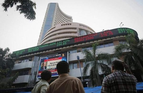BSE Sensex zoomed past the 39,300 mark, over 1,422 points and NSE Nifty reclaimed 11,800 level (File Photo | Reuters)