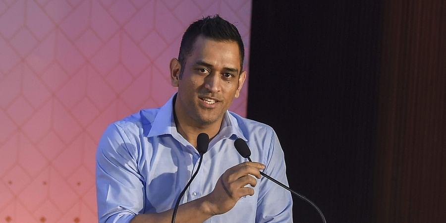 Indian cricketer MS Dhoni. (Photo   PTI)