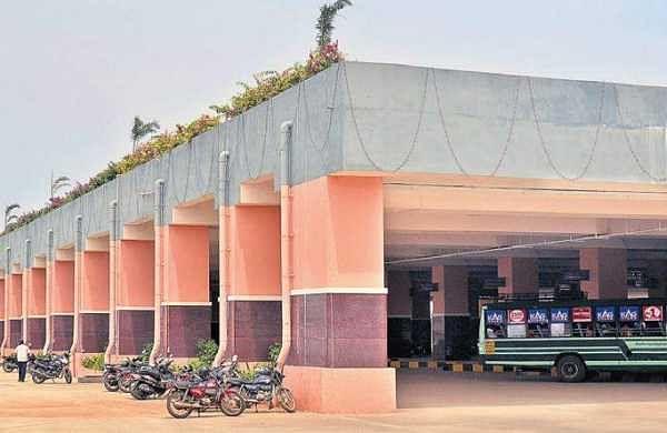 The newly constructed terminus at Madhavaram   D SAMPATH KUMAR