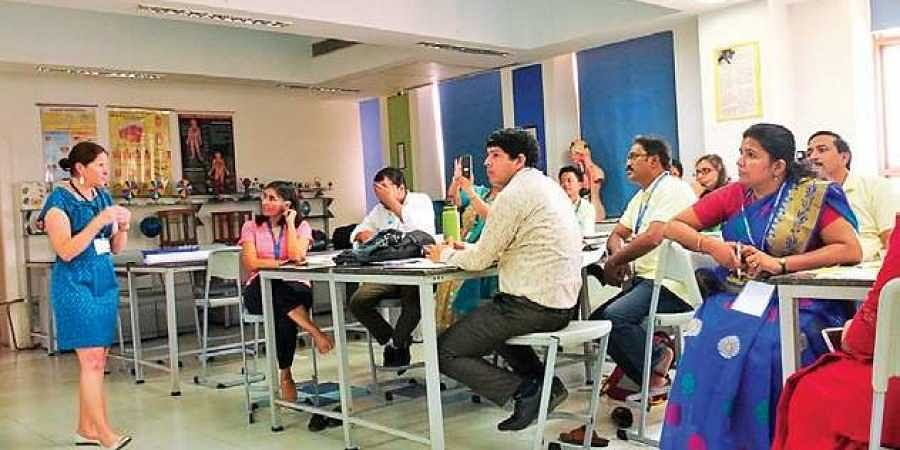 Teachers from across states attended the six-day event organised at the Shiv Nadar school in Noida last week