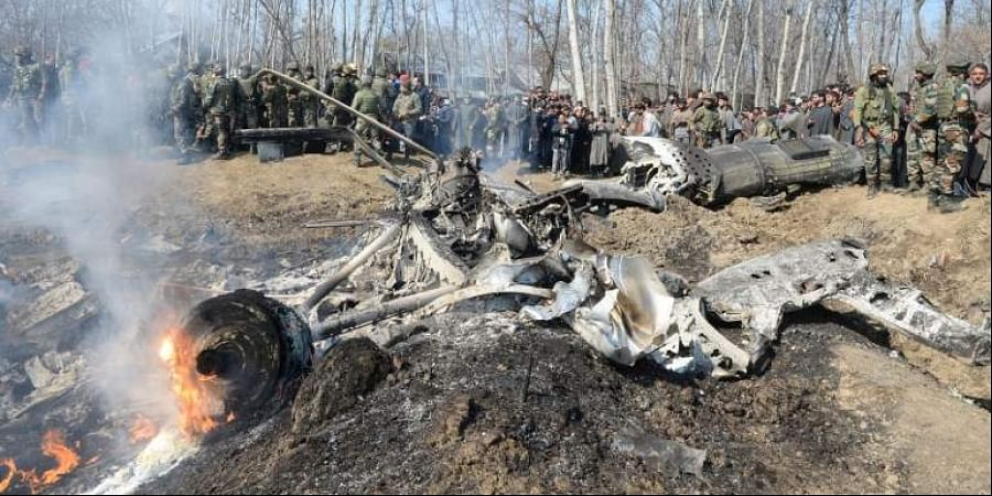 A report said that the officer commanding the Srinagar air base, where the crash took place, has been removed.