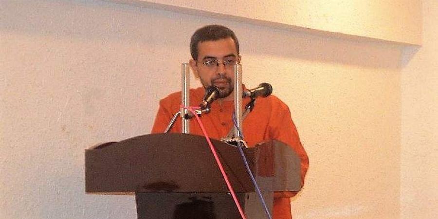 Hindu scholarNithin Sridhar