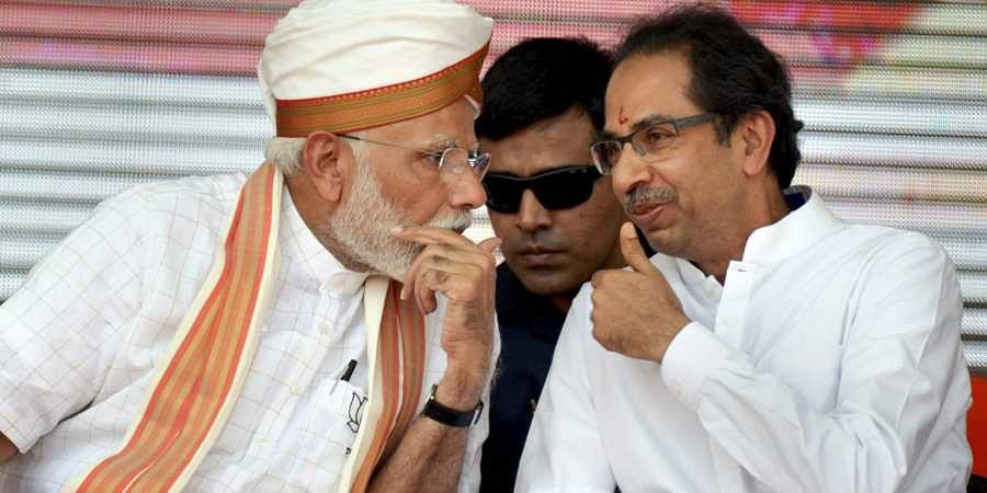 Uddhav Thackeray, PM Modi, Maharashtra election rally