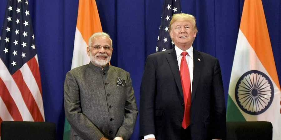 Prime Minister Narendra Modi and US President Donald Trump (File Photo | PTI)