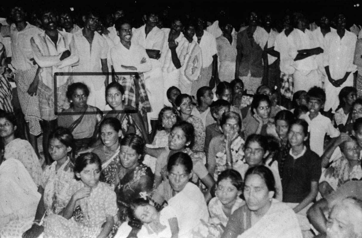 Human Bomb Dhanu, Nalini spotted at the event in which PM Rajiv Gandhi would assisinated. | Express Photo