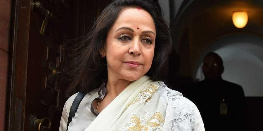 Lok Sabha MP Hema Malini