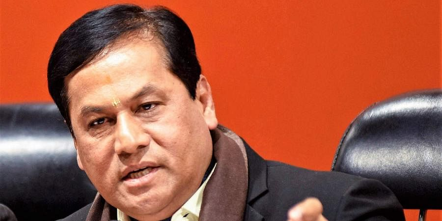 Assam CMSarbananda Sonowal