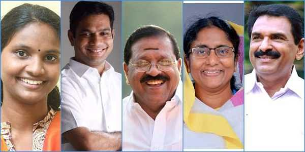 The verdict is out and, in stark contrast to the national trend, people have given the Congress and its allies a handsome win in Kerala. While the CPM-led LDF has been left to lick its wounds, TNIE gives an overview of the election results (Photos | Faceb