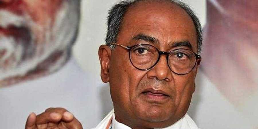 Former Madhya Pradesh CMDigvijaya Singh