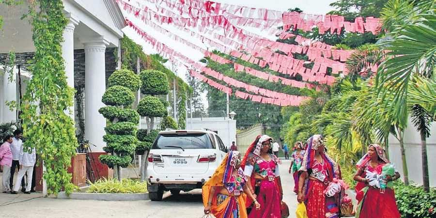 TRS aims for sky, remains on road- The New Indian Express