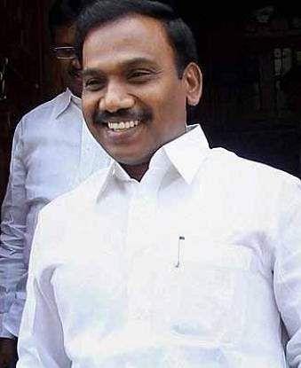 Nilgiris Lok Sabha constituency: A Raja (DMK) - Vote margin: 2,05,823