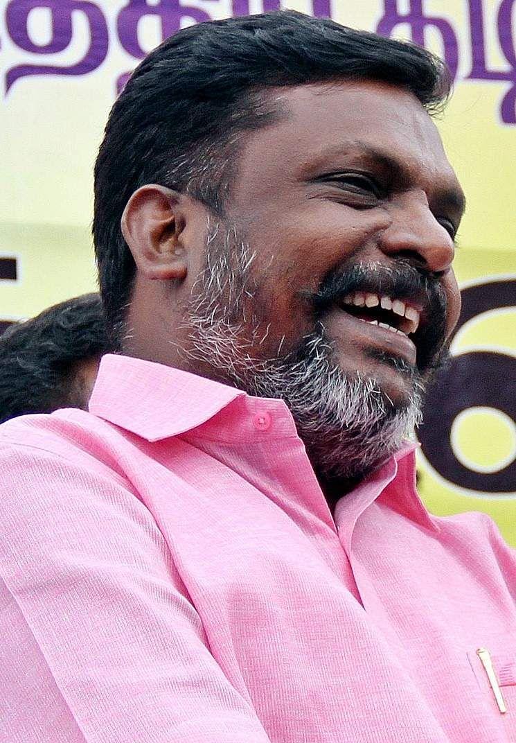 Perambalur Lok Sabha constituency: Thol Thirumavalavan (VCK) - Vote margin: 3,130