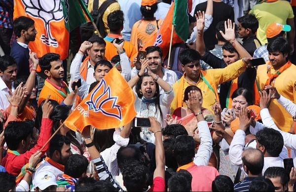 BJPs Lok Sabha elections 2019 sweep shows saffron party rising vote share