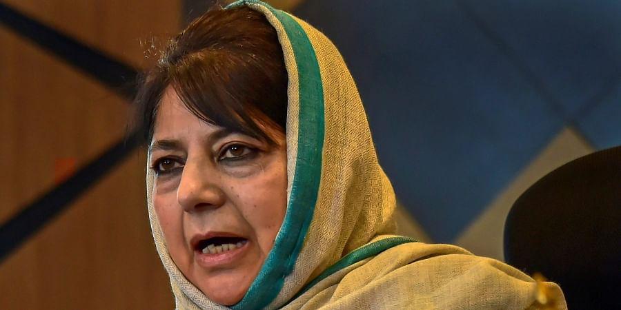 Ex-Jammu and Kashmir CM Mehbooba