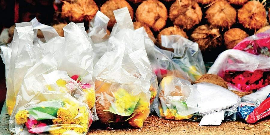 Plastic carry bags.     vinay madapu